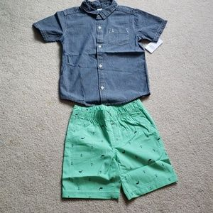 Carter's Toddler Boy 5T Outfit Set NWT